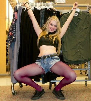 teen pantyhose feet