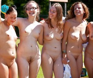 young nudist camp