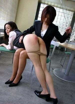 schoolgirl spanked video