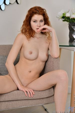 young nudist redhead